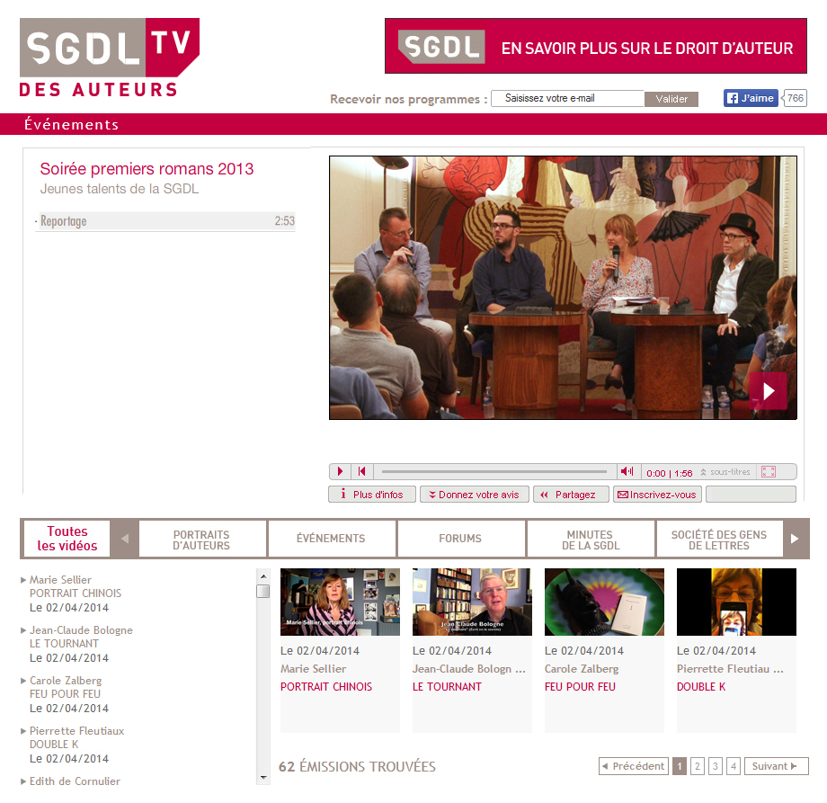 SGDL TV DESAUTEURS