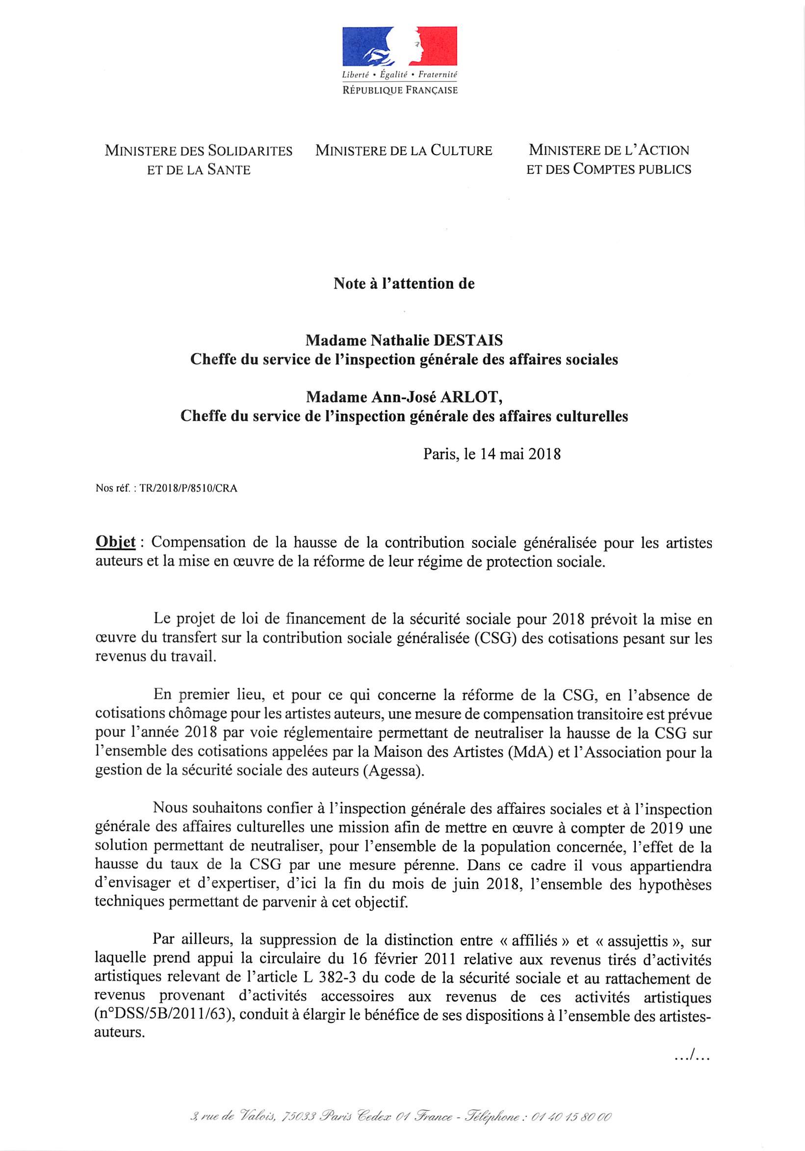 lettre de mission contrat de travail La lettre de mission du gouvernement lettre de mission contrat de travail